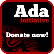 Ada Initiative donate button.